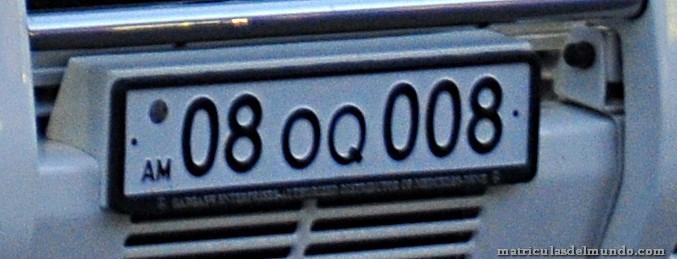 matrícula de armenia