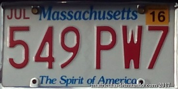 matricula de massachissets boston asturias The Spirit of America