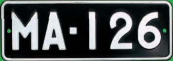 Matricula de coche de Finlandia historica