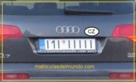 Matrícula I1I IIIII